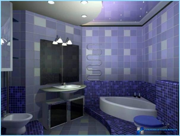 การออกแบบเฟอร์นิเจอร์ห้องน้ำ