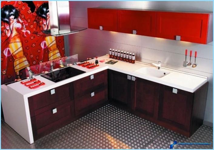 Itämainen keittiösuunnittelu