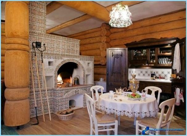 Keittiö venäläisessä kansanmuodossa