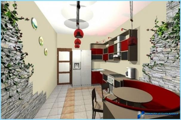 Japāņu stila virtuves dizains