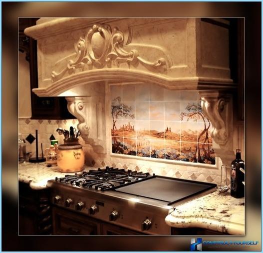 Itāļu stila virtuves dizains