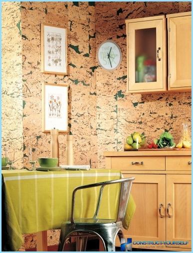 Mūsdienu sienas dizaina idejas virtuvē