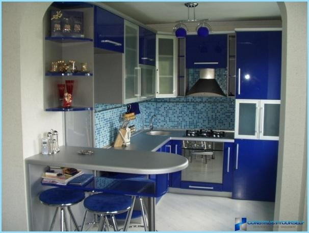 Different combinations of colors for the kitchen