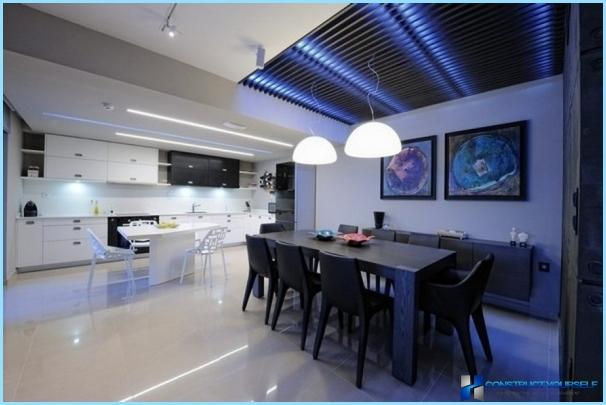 Stile Art Nouveau all'interno della cucina