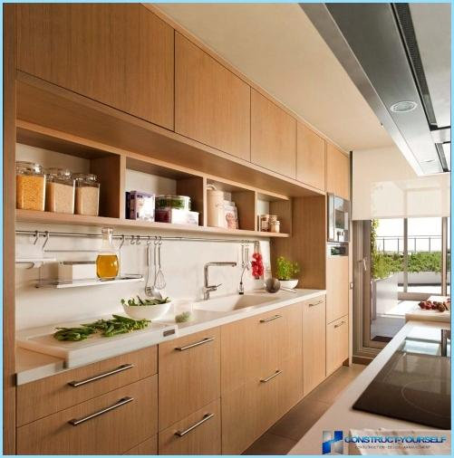 Virtuves-ēdamistabas plānojums un dizains