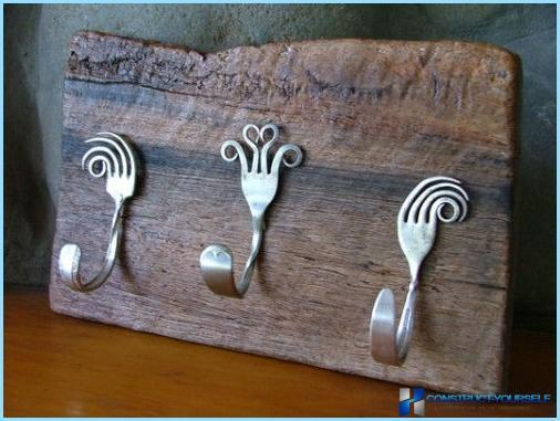 Kitchen decor with their hands