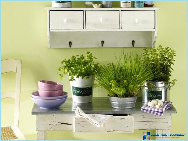 DIY virtuves dekors