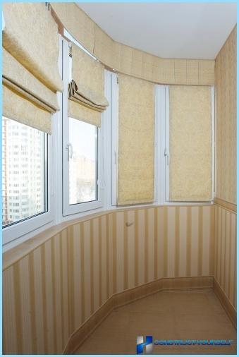 Køkken kombineret med balkon: indvendige muligheder