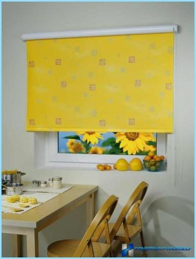 What are blinds in the kitchen is better to choose