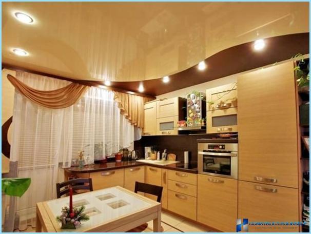Dizaina foto griesti virtuvē