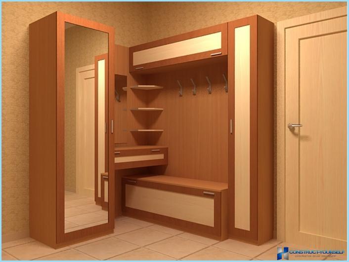 Hvordan man vælger møbler til en lille gang