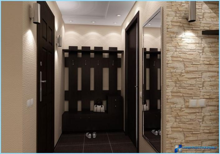 小さなアパートの廊下のデザイン