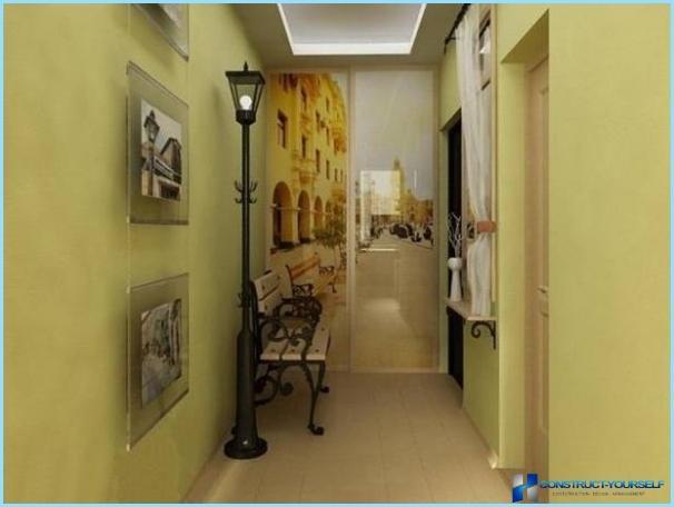 קיר קיר במסדרון ובמסדרון
