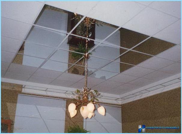 تصميم السقف في الرواق مع صورة