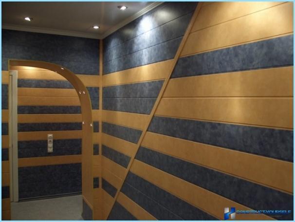 Pannelli murali fai-da-te per il corridoio