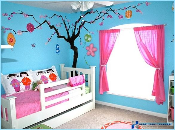How to make beautiful window in the nursery