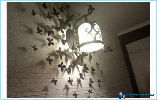 Farfalle decorative per la decorazione murale