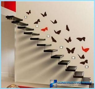 Dekorative sommerfugle til vægdekoration