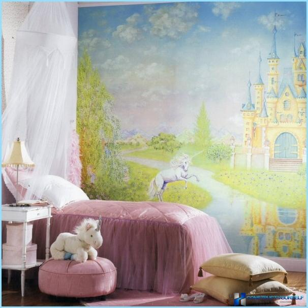 Photo Wallpapers in the interior for children's room
