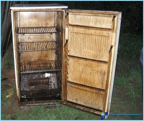 How to make homemade smokehouse with their hands