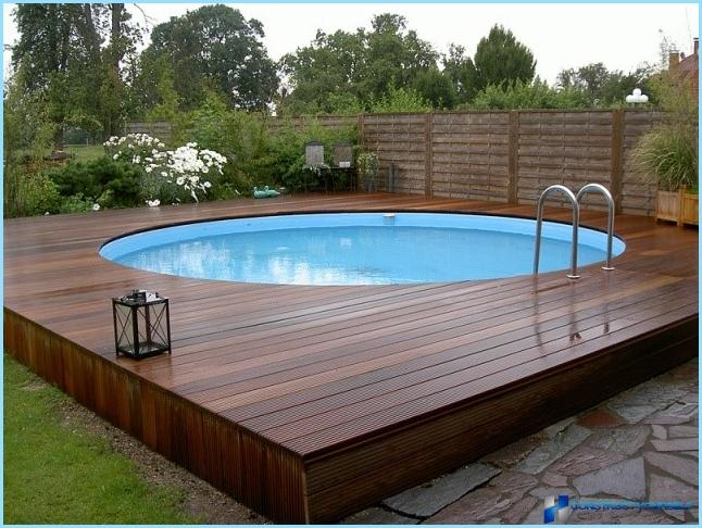 How to choose a pool for the garden: folding or stationary