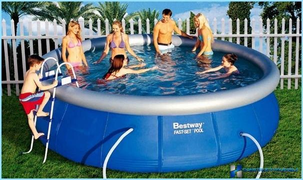 Come scegliere una piscina gonfiabile per una residenza estiva