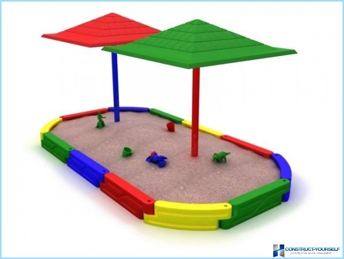 Sandbox per la scuola materna