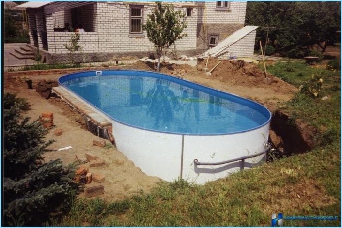 Vasaras dzīvesvietas baseinu veidi un raksturojums