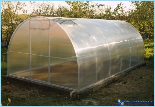 How to make a greenhouse of profile pipes