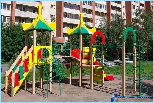 DIY legeplads installation