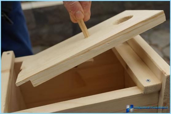Vi laver et fuglehus med egne hænder i henhold til tegninger, fotos og video