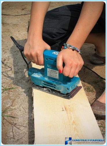 Hvordan lage et trebord på landet