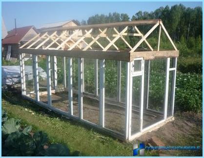 Tee itse-kasvihuone vanhoista ikkunoista