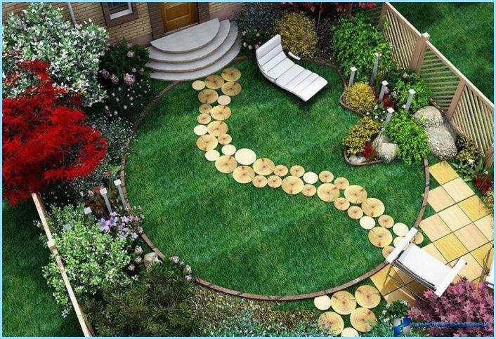 Examples of landscape design on 6 acres