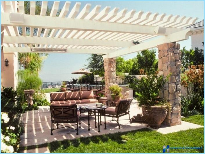The use of pergolas in landscape design