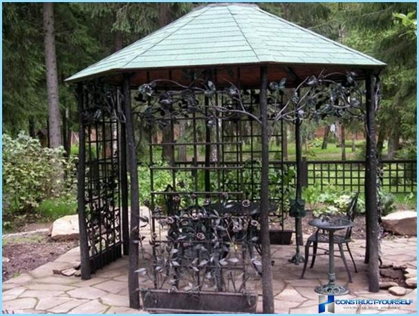 How to make a pergola with your own hands, step by step instructions