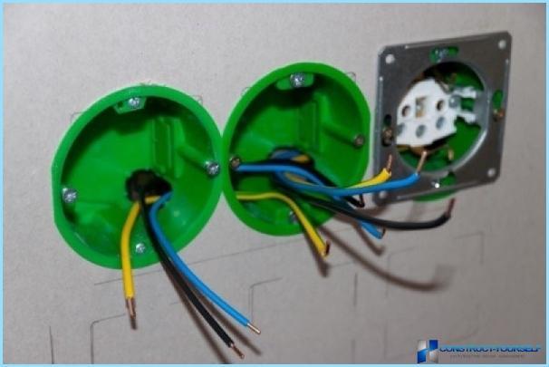 Sådan installeres en kasse under en switch eller stikkontakt