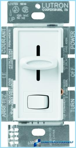 How to connect the dimmer