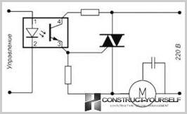 Forbindelsesdiagram til ventilatorhastighedsregulator
