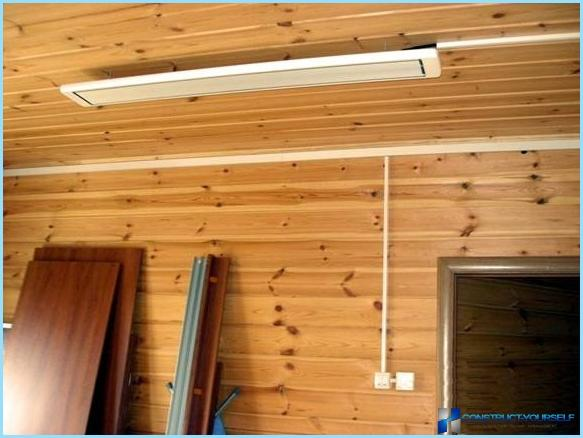 How to install infrared heater independently