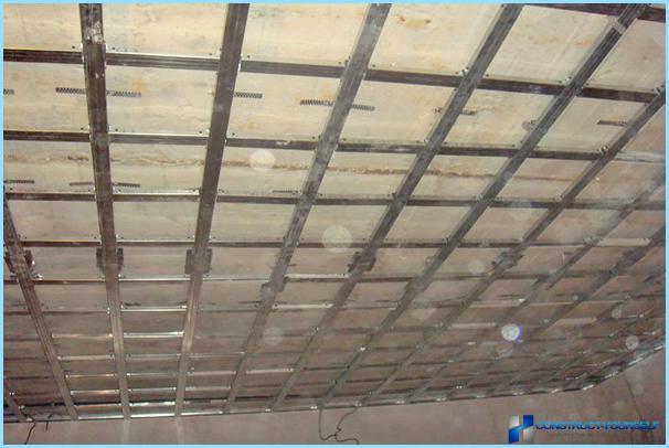 Installation og installation af kufferet loft