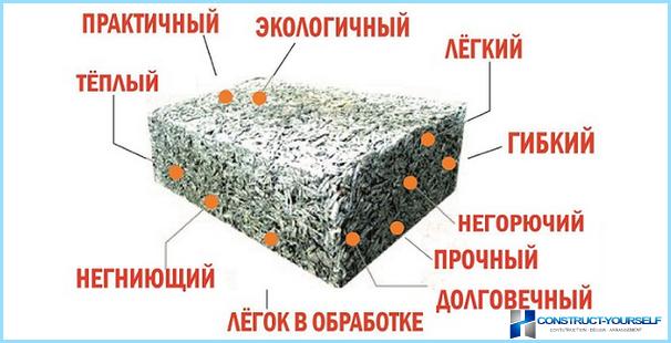 Arbolīta bloku plusi un mīnusi