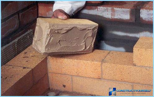 Preparazione della malta per muratura