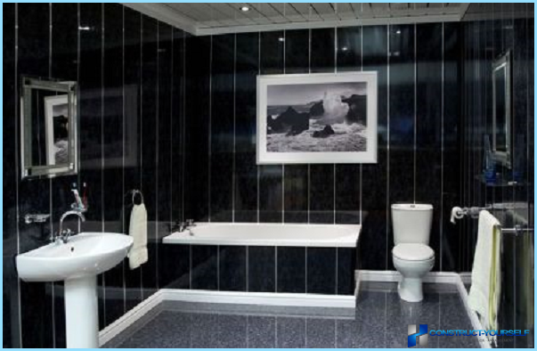 PVC-paneelit kylpyhuoneeseen