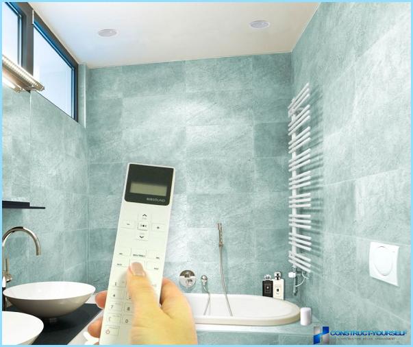 Radio til badeværelset