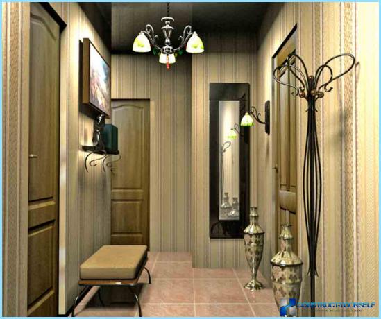 Lamper i det indre af gangen
