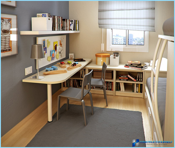 Interior small kids room