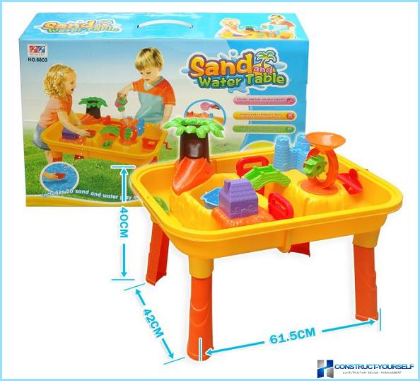 Plastmasas smilšu kaste bērniem