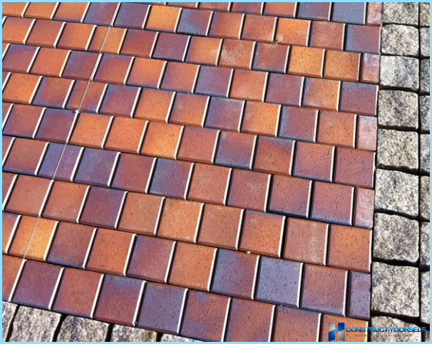 What types of paving are