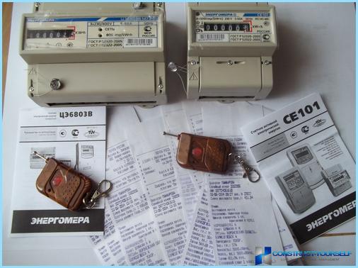 Stromzähleranschluss in der Wohnung